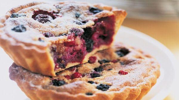 recette tarte amandine aux fruits rouges recettes les desserts picard. Black Bedroom Furniture Sets. Home Design Ideas