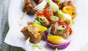 Brochettes de volaille au paprika