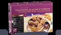 8 brochettes de poulet à l'indienne
