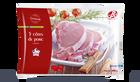 5 côtes de porc Label Rouge, Origine France