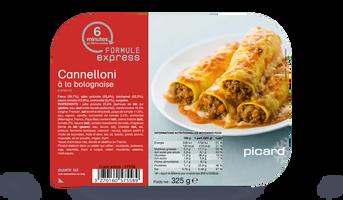 Cannelloni la bolognaise surgel s les plats cuisin s for Picard plats cuisines