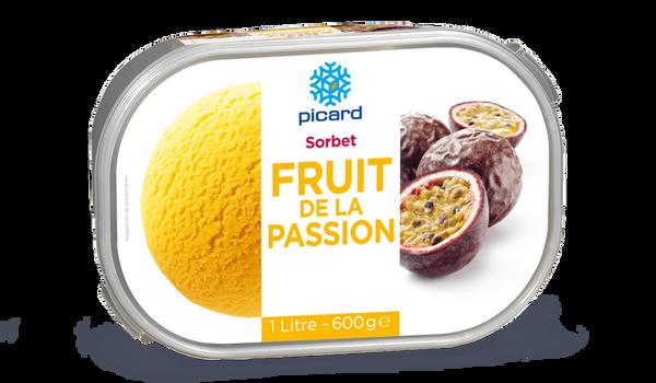 Sorbet fruit de la passion