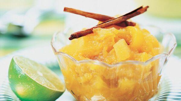 recette compote de mangue pomme cannelle et citron vert recettes les desserts picard. Black Bedroom Furniture Sets. Home Design Ideas