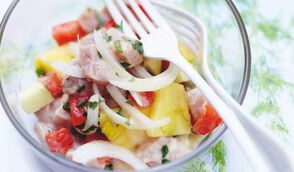 Salade à la tahitienne
