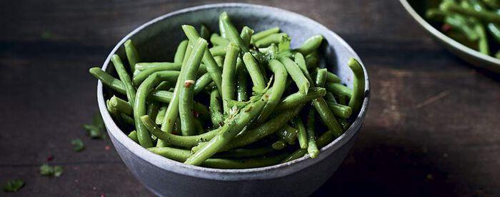 Haricots verts extra-fins, déjà cuit vapeur
