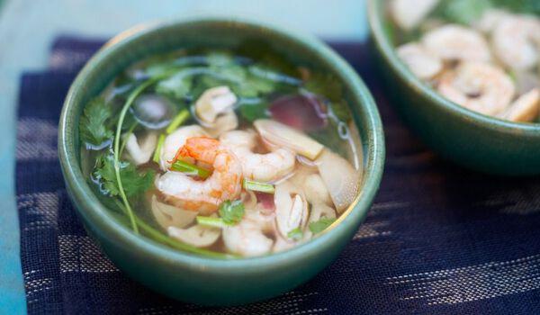 2 soupes Tom Yam Kung