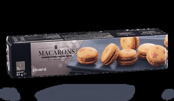 8 macarons pomme-poire façon tatin