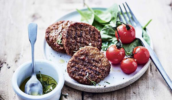 Mini-burgers saveur BBQ