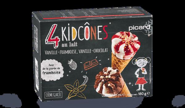 4 kid cônes