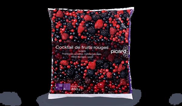 Cocktail de fruits rouges