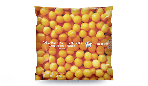 Melon en billes, France