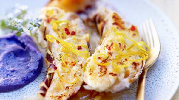 Recette langouste flamb e au limoncello recettes les - Cuisiner queue de langoustes crues surgelees ...