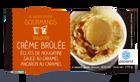 2 mini-pots glace façon Crème brûlée