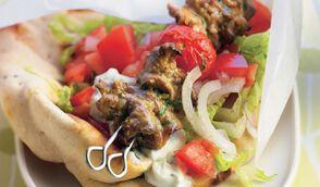 Gigot d'agneau façon kebab