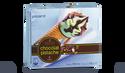 6 cônes pistache-chocolat