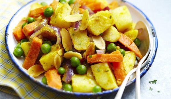 Légumes à l'indienne