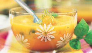 Salade mangue melon et citron vert