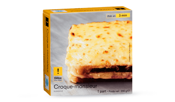 1 croque-monsieur