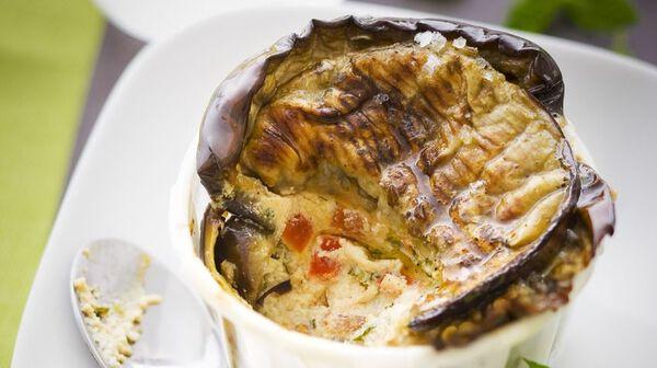 Recette g teau d 39 aubergines grill es recettes les plats picard - Recette d aubergines grillees ...