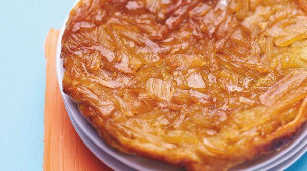 Tarte tatin au fenouil caramélisé et gingembre