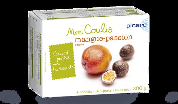 Coulis mangue-passion