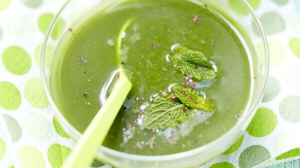 Potage glacé tout vert