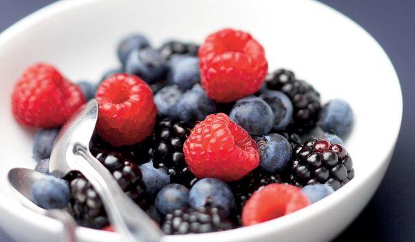Cocktail de fruits rouges bio, importation