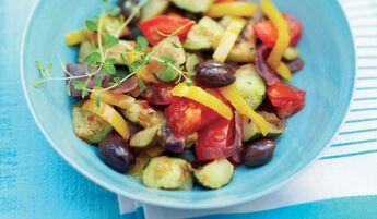 Poêlée de légumes à la provençale bio