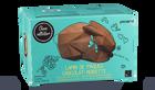 Lapin de Pâques chocolat-noisette