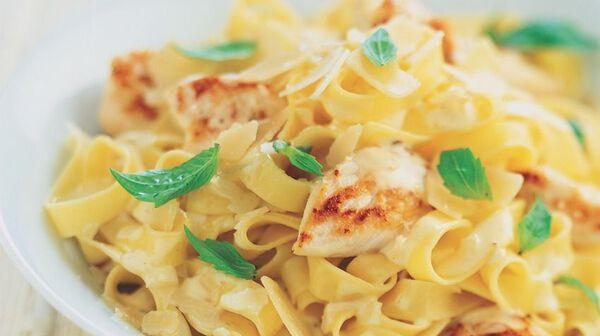 recette tagliatelles 224 la carbonara de poulet recettes les plats picard