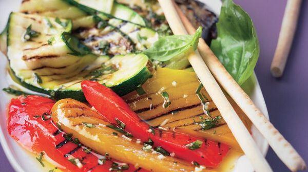 Recette antipasti de l gumes recettes les entr es picard - Antipasti legumes grilles ...