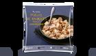 Poêlée de ravioles poulet champignons
