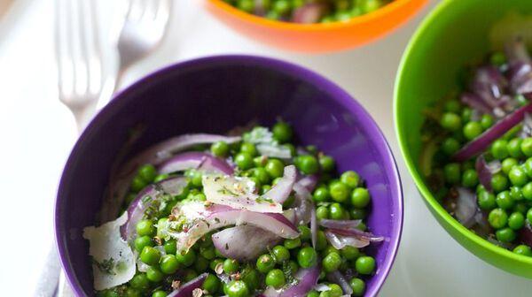 recette salade de petits pois la menthe et aux oignons recettes les entr es picard. Black Bedroom Furniture Sets. Home Design Ideas