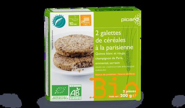 2 galettes de céréales à la parisienne bio
