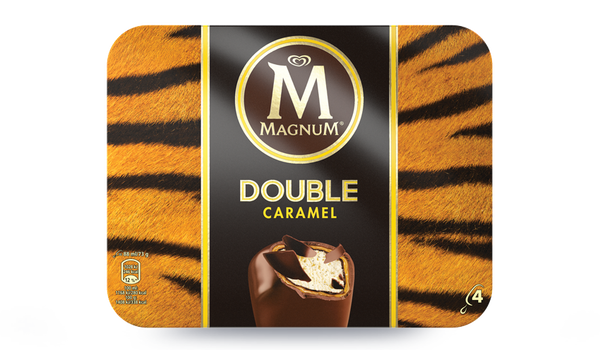4 Magnum Double Caramel