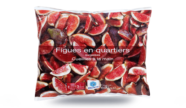 Figues en quartiers, importation