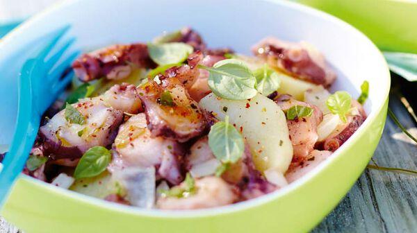 recette salade de poulpe recettes cap sur l 39 t picard. Black Bedroom Furniture Sets. Home Design Ideas