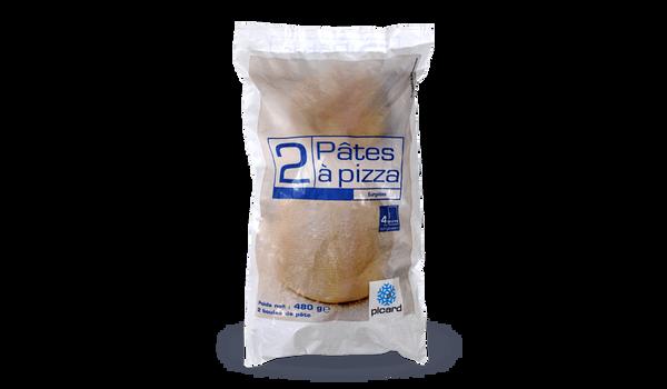 2 pâtes à pizza (pâte à pain)