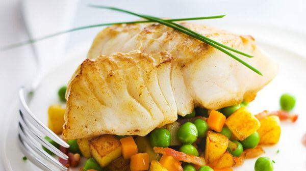recette dos de cabillaud sur lit de légumes - recettes les plats