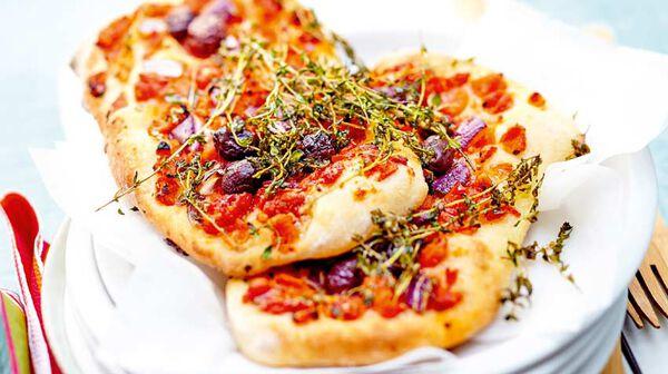 recette focaccia la tomate olives et oignons rouges recettes les recettes italiennes picard. Black Bedroom Furniture Sets. Home Design Ideas