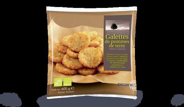 Galettes de pomme de terre surgel s les l gumes picard - Boite conservation pomme de terre ...