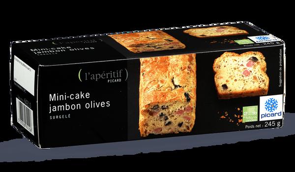mini cake jambon olives surgel s les ap ritifs picard. Black Bedroom Furniture Sets. Home Design Ideas
