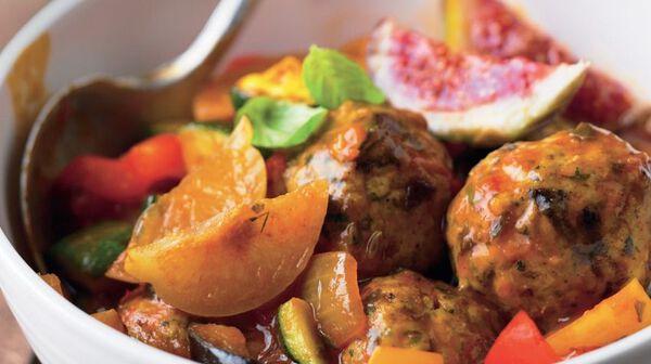 Mijotée de viande et légumes façon tajine