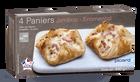 4 paniers jambon-emmental