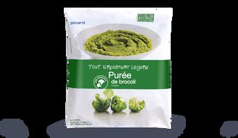Pur e de brocolis surgel s les l gumes picard - Cuisiner brocolis surgeles ...