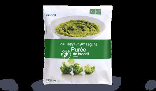 Purée de brocolis, portionnable