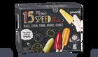 15 mini-speed, glaces à l'eau