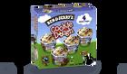 4 mini-pots Cookie Dough