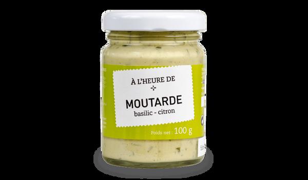 Moutarde basilic-citron