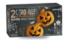 2 Citrouilles d'halloween glacées